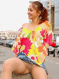 Stunning babe in nylon pantyhose knowing the best way of rest-time outdoors pictures at dailyadult.info