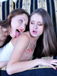 Horny lesbo makes passes at her girl craving for a sixty-nine lickety-split pictures