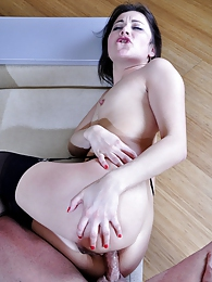 Hot-assed chick launches into sixty-nine before impaling her ass on a boner pictures at adspics.com