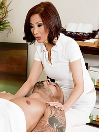 The Art Of Asian Cock Massage pictures at lingerie-mania.com
