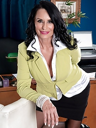 The Ass-fucked Boss Is Named Rita Daniels pictures at lingerie-mania.com