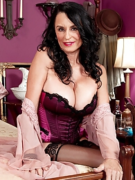 The Most-fucked Milf At 60plusmilfs.com Fucks Again pictures at lingerie-mania.com