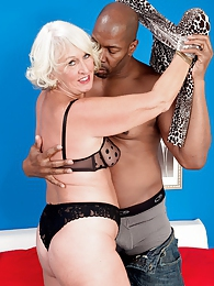 Jeannie Lous Big Black Cock Creampie pictures at lingerie-mania.com