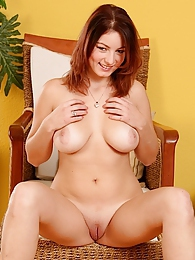 Super cute busty coed Nani naked in her heels pictures at freekilosex.com