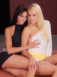 Brandy Smile and Britney engage in some afternoon lesbian fun pictures at sgirls.net