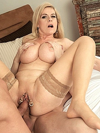One in her pussy, one in her ass? No problem pictures at find-best-mature.com
