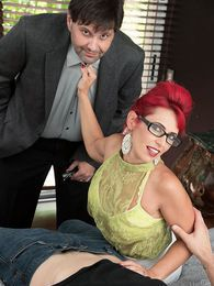 Nola makes a cuckold of her husband pictures at lingerie-mania.com