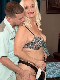 Her Daughter Just Fucked This Guy. Now Vikki's Going To Fuck Him. pictures at lingerie-mania.com