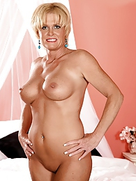 Blonde, Pierced And Horny pictures at freekilosex.com