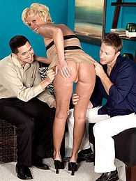 Trixie's Ass-fucked, Three-way Encore pictures at kilovideos.com