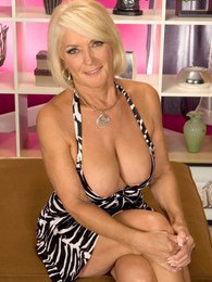 Georgette Shows Off The Most Popular Milf Body Ever pictures at lingerie-mania.com