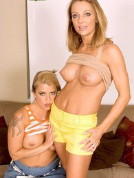 Two Cougars, One Young Cock pictures at sgirls.net