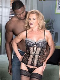 Now 50something, Amanda enjoys an interracial ass-fuck pictures at lingerie-mania.com