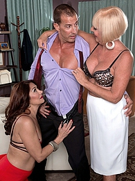 Two Milfs, One Job, One Cock pictures at sgirls.net