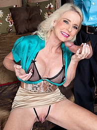 The New Milf Has A Gaping Pussy pictures at lingerie-mania.com