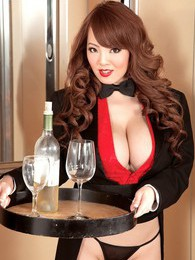 Happy New Year With Hitomi pictures at find-best-lingerie.com