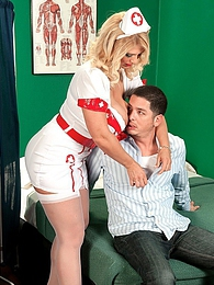 Hooter Hospital: Nurse Kelly On Call pictures at lingerie-mania.com