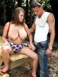 Brandy Talore - Come All Over My Big Fucking Tits pictures at freekiloporn.com