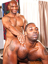 Hunky Black Gay Ass Fucking pictures at lingerie-mania.com
