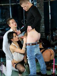 Bisexual swingers party ends up pretty wild and very nasty pictures