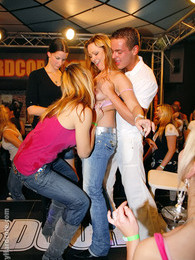 Alcohol loving babes nailed hard at the local nightclub pictures at find-best-hardcore.com