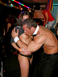 Cute dancing hotties sucking very large stripper peckers pictures