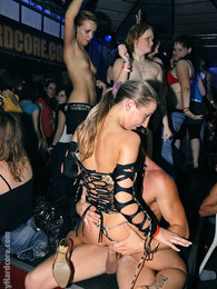 Alcohol drinking sweeties banged at a massive dance club pictures at find-best-hardcore.com