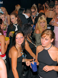 Alcohol drinking hotties screwed at a giant hot sex party pictures at sgirls.net