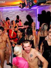 Crazy hot intoxicated chicks drilling cocks at the club pictures at lingerie-mania.com