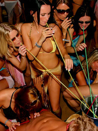 Willing teenage chicks penetrated at a large beach party pictures at kilopics.com