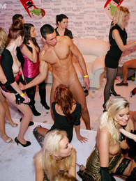 Amazing intoxicated chicks love screwing male strippers pictures