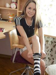 This teen knows already what she likes and what she wants! pictures at freekilosex.com