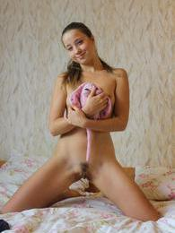 Tall and gorgeous teen Magda strips and shows her assets pictures at dailyadult.info
