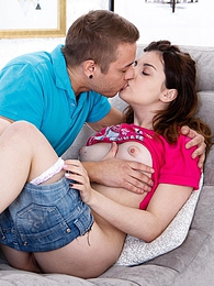 First timer brunette teen Nikol gets pussy licked and fucked pictures at dailyadult.info