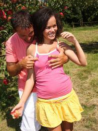 Lenet loves giving a blowjob out in nature and fucking after pictures at find-best-tits.com
