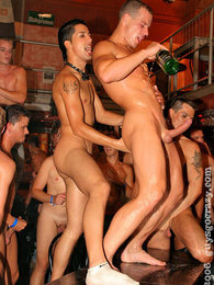 Huge drunken gay cock sucking and ass fuckin group sex party pictures