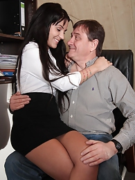 Bella Beretta loves all cock, no matter how old the guy is pictures at lingerie-mania.com