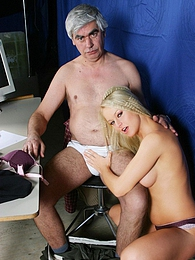 Sweet blonde babe seduces a grey and horny old man orally pictures at nastyadult.info