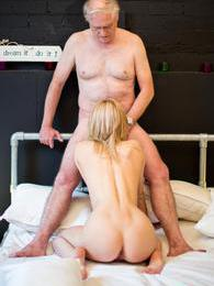 This grandpa still has a hard dick and she loves to pound it pictures at nastyadult.info
