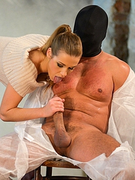 Men is tied up, blinded and wanked until he cums hard pictures at freekilomovies.com