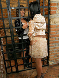 Jail cell lesbians pussy licking and strap on fucking fun pictures at find-best-mature.com