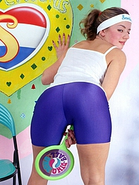 Sporty horny teenage sweetheart pleasures her naked body pictures at dailyadult.info