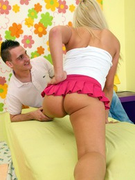 A pretty teenage blonde nailed hard by his big solid penis pictures at freekilomovies.com