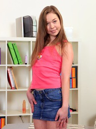 Cute and innocent teenager likes masturbating with toys pictures at dailyadult.info
