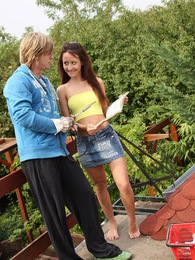 Sexy hot teenage public roof screwing hardcore pictures pictures at adipics.com