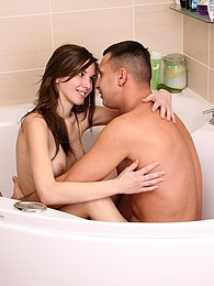 She wants to get licked fucked in the bathtub right now! pictures at kilotop.com