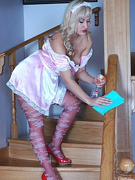 Hot maid in fancy hose gets talked into servicing her lesbo mistress's muff pictures at dailyadult.info
