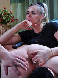 Strapon-mistress drills a lubed butt of her male sex pet and kicks him out pictures at kilopics.net