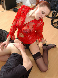 Strap-on armed gal is ready to pump the ass of her man-bitch day and night pictures at relaxxx.net