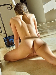 Carlie Stretching For Yoga pictures at find-best-mature.com
